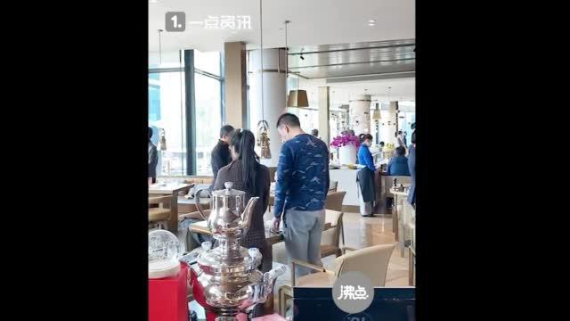上海深坑酒店集体驻足默哀