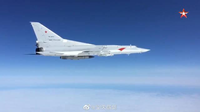 俄罗斯空天军与太平洋舰队海军航空兵进行联合训练