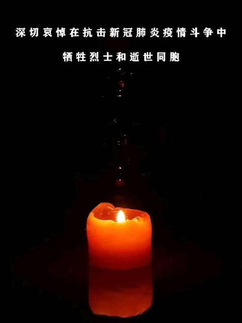 天津市东丽区消防救援支队 深切哀悼在抗击新冠病毒疫情斗争中