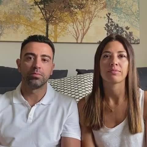 哈维更新INS视频!哈维和妻子向加泰罗尼亚医院捐款100万欧元