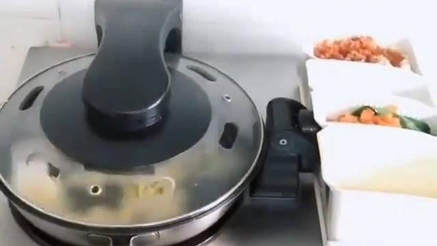 全自动炒菜锅,是你心目的智能家居吗?