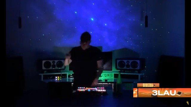 三鹿3LAU最新线上慈善Digital Mirage音乐节现场首播!