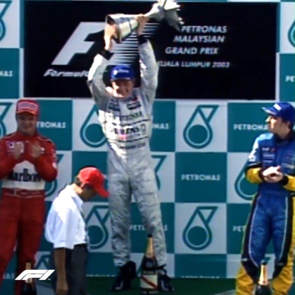 马来西亚站   冲线🏁 恭喜Kimi取得了个人职业生涯的首个分站冠军!