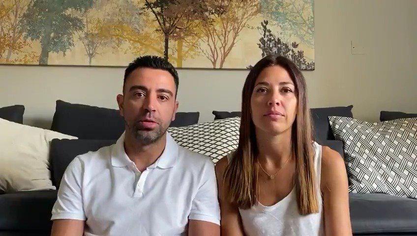 哈维和他的妻子努里亚向巴塞罗那当地的医院捐赠了100万欧元