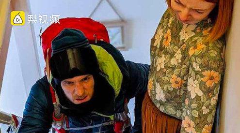 疫情期间虚拟攀登珠峰挑战:各国登山爱好者们在家爬楼梯