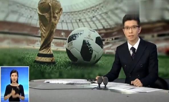 朱广权解说世界杯,手语老师一边憋笑,一边还要翻译,真是辛苦!
