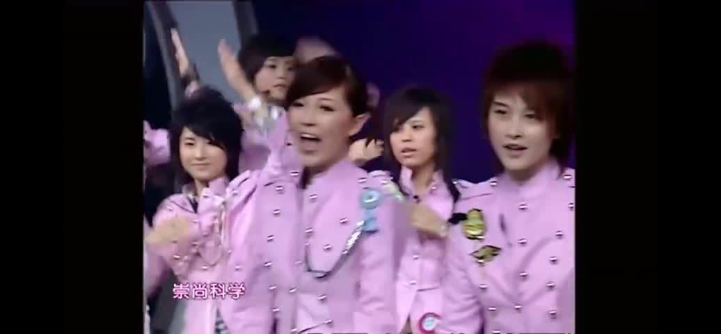2006超女十强合唱《你知不知道》,洗脑神曲,这是啥方言?