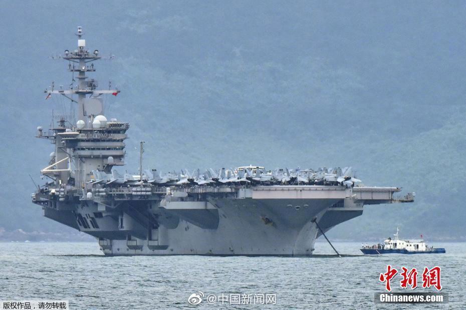 美军罗斯福航母已有173人感染新冠