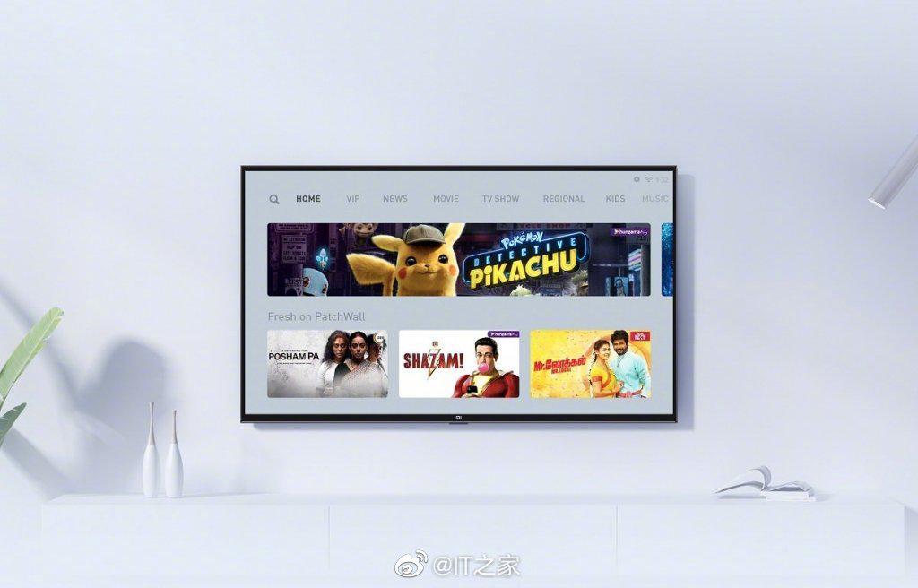 小米在印度为小米电视推出 PatchWall 3.0:集成 Disney+
