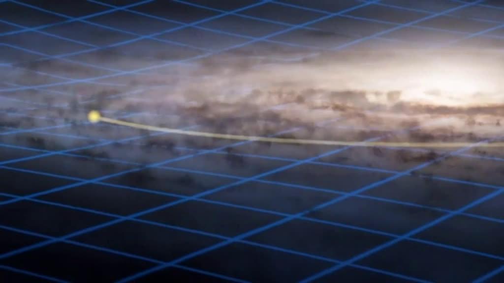 """科学家发现银河系""""卷边""""了,变成了这样的形状"""