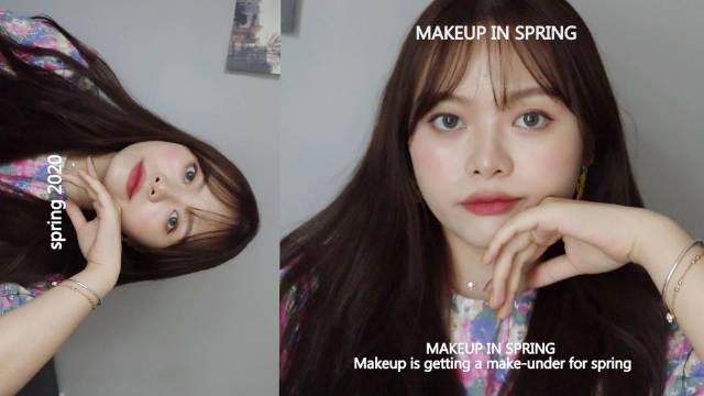 好久没有更新长视频啦 随手拿的化妆品没有什么特点的日常妆容 哈