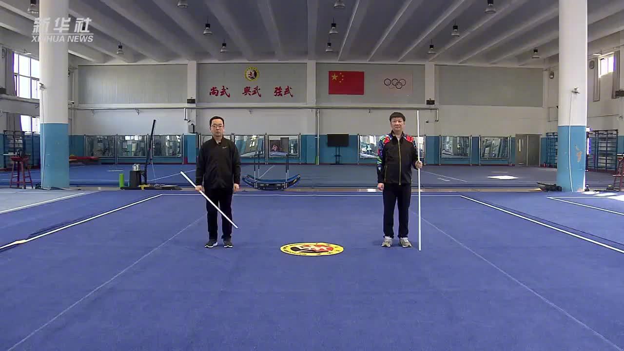 奥运会射击冠军贾占波教你居家健身操