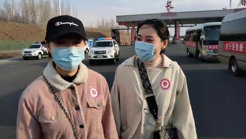 采访长春市妇产医院护士蔡丽敏、闫茜茜