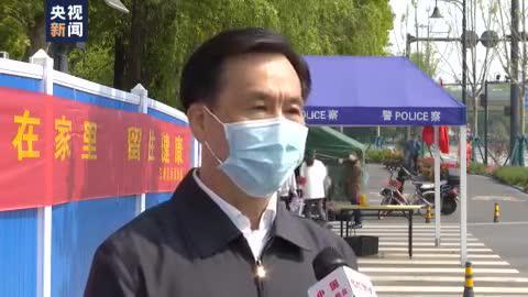总台记者专访武汉市防疫指挥部副指挥长胡曙光:打开城门不等于打开家门