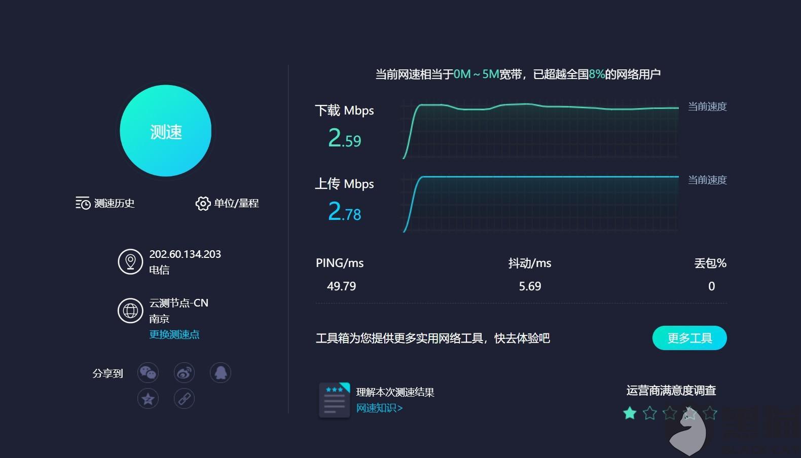 黑猫投诉:京东自营华正易尚随身wifi用时3小时解决了消费者投诉