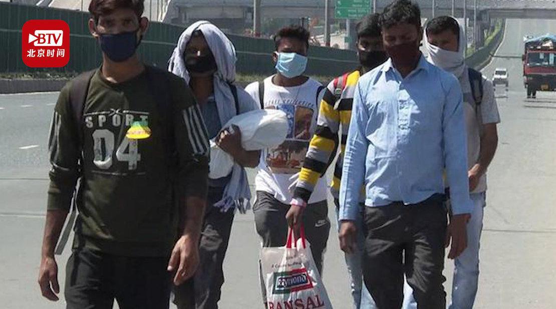 印度封城两周致至少5000万人失业 4亿打工者陷入贫困