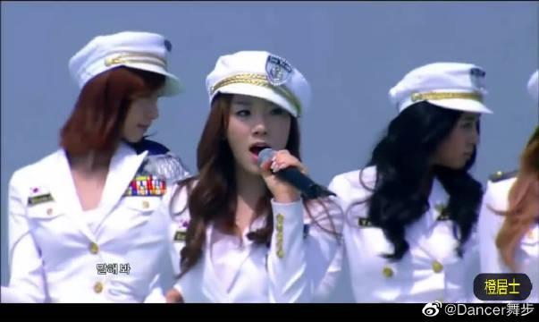 屋顶天台特设海军制服舞台,少女时代《说出愿望吧》