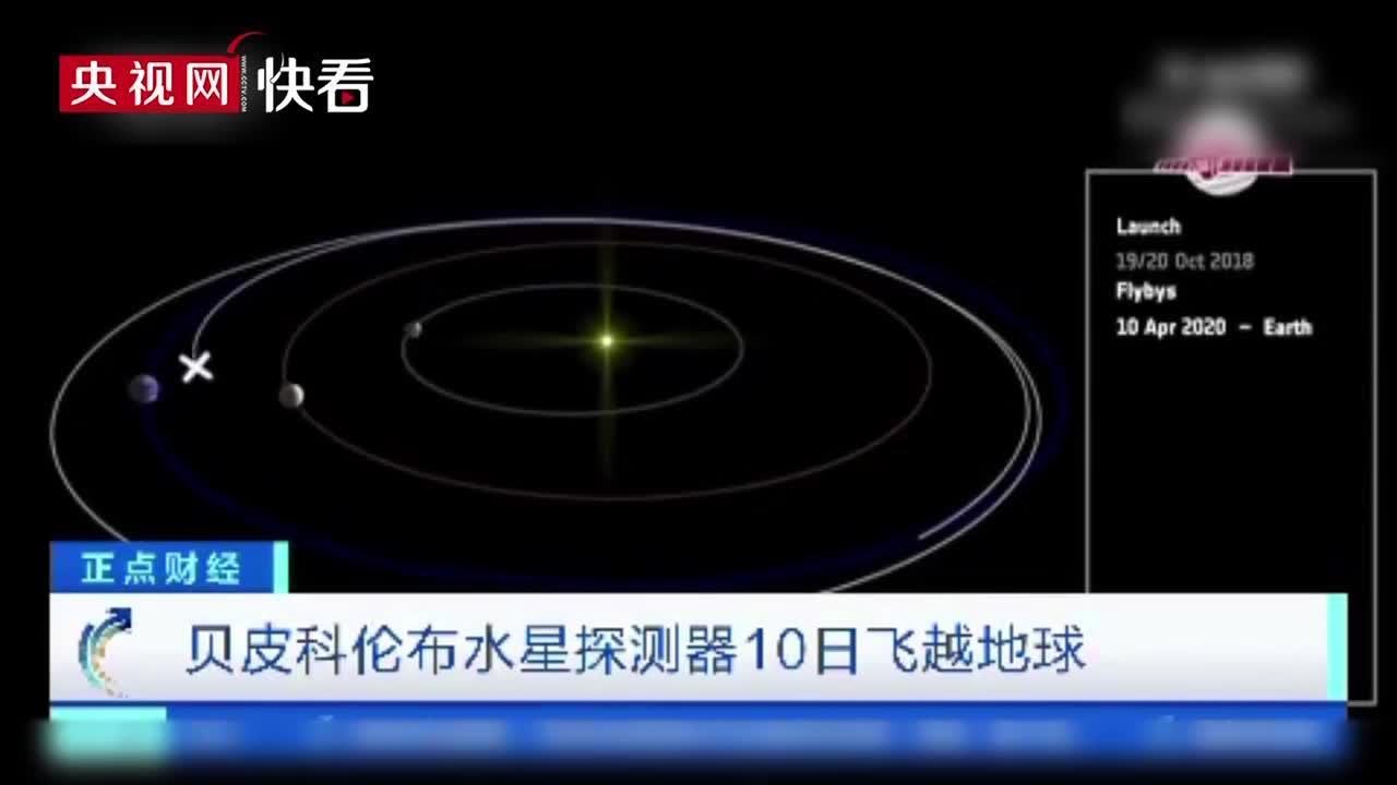贝皮科伦布水星探测器10日飞越地球