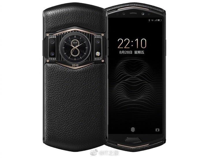 8848钛金手机M6今日开卖:高通骁龙865+钛合金镀金机身……