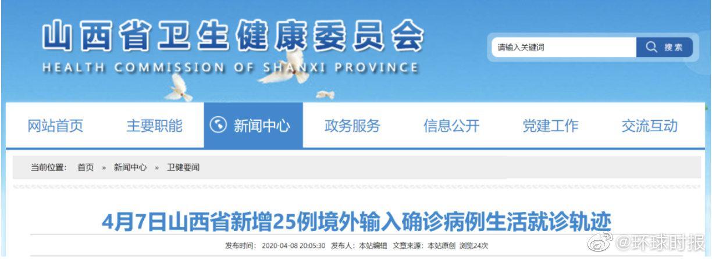 一架莫斯科飞北京的航班降落太原,机上25人确诊,轨迹公布!图片