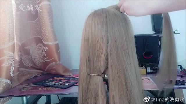 现在非常流行的发型,简单修颜,洋气百搭,步骤简单