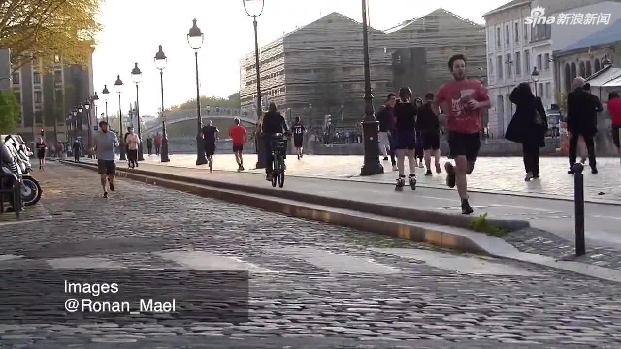 巴黎禁止民众白天户外运动 没想到结果是这样的