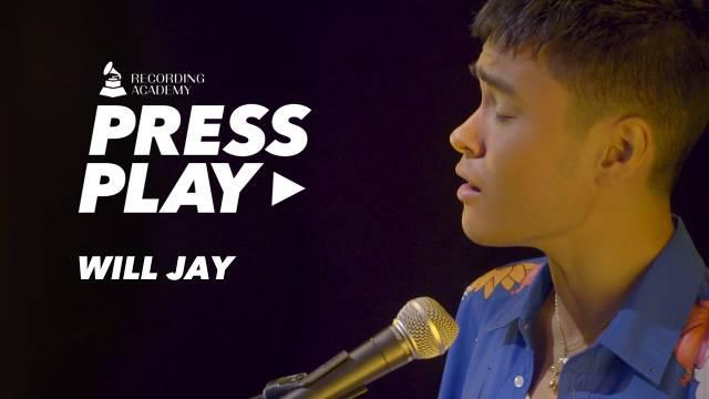 """中德混血美籍歌手Will Jay刘伟男最新做客电台节目""""Press Play"""""""