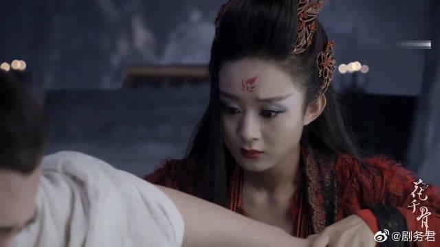 霍建华、赵丽颖的剧版花千骨挺爆的……