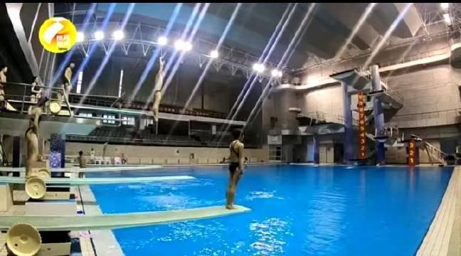 陕西陕视记者带您走进省游泳管理中心
