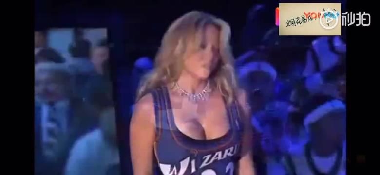 经典!牛姐在乔丹03年退役战上献唱《Hero》 视频下载戳链接