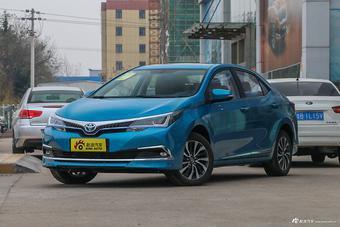 4月深圳比价 丰田卡罗拉混动最大折扣8.2折