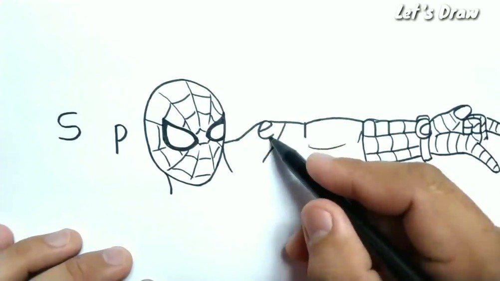 画家小哥把漫威角色的英文名字画成对应的漫画形象……