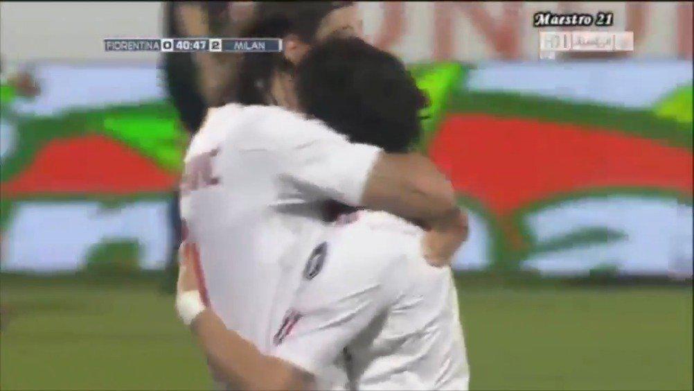 2011年的今天,AC米兰2-1佛罗伦萨,帕托破门