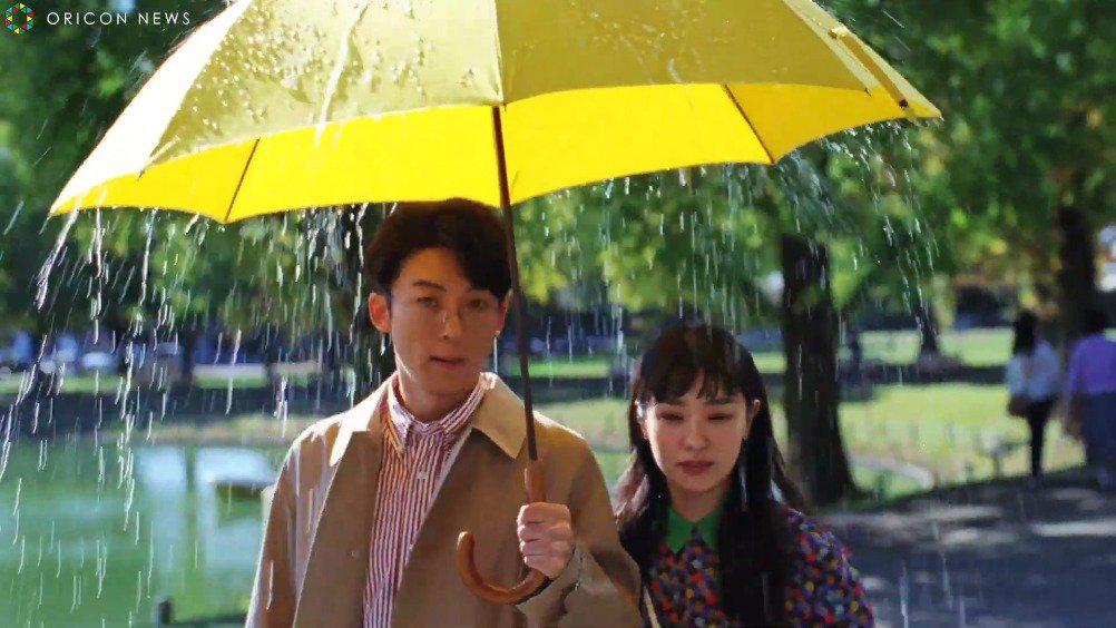高桥一生x奈绪出演护发品牌广告,和「雨男」谈恋爱是什么体验?