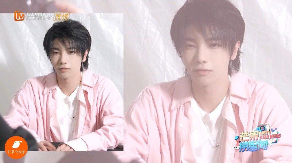 华晨宇《歌手当打之年》拍摄花絮 粉色衬衣的草莓花花来了 突如其