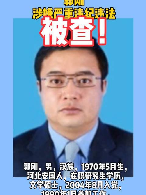 巴彦淖尔市委常委、副市长郭刚接受纪律审查和监察调查
