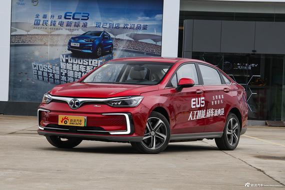 4月新车比价 北汽新能源EU5广州5.8折起
