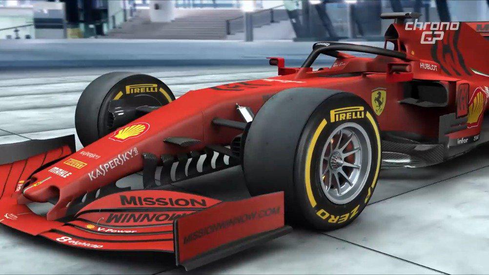F1科普视频:四个不同的压舱物摆放位置……