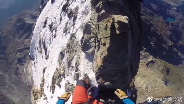 恐高慎点,第一视角带你攀登阿尔卑斯山脉的「马特洪峰」 腿软