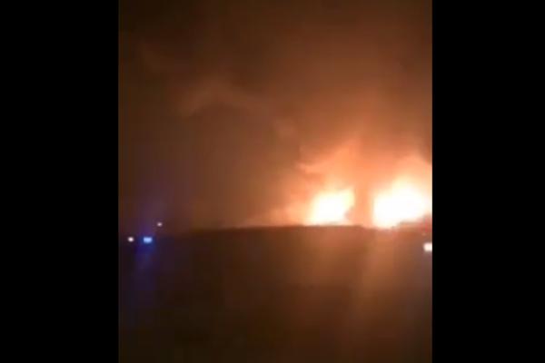 捉谣记 网传的这段连云港爆炸视频 实为2015年天津滨海爆炸现场