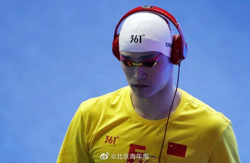 摩天登录杨入选中国游泳摩天登录队奥运集训图片