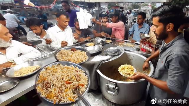 街头小吃:巴基斯坦卡拉奇普拉奥街牛肉