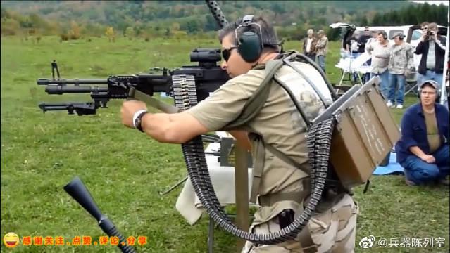 美国M60式7.62mm通用机枪,是美国斯普林菲尔德兵工厂研制的……