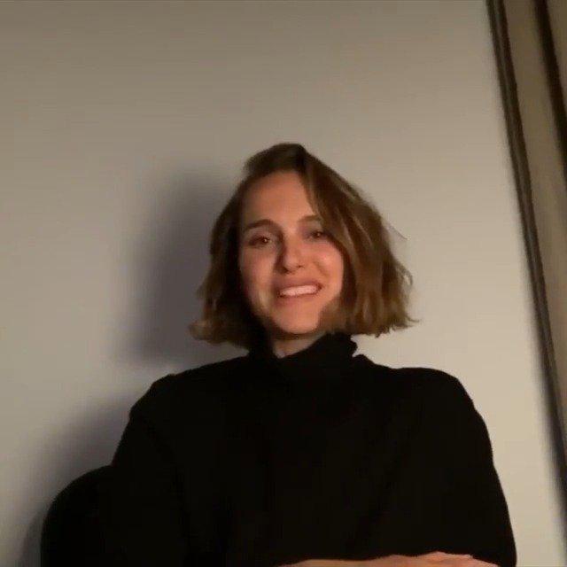 娜塔莉波特曼为AFI的影片推荐录制了视频……