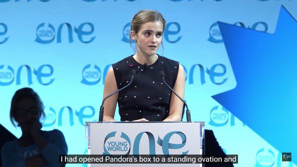 艾玛沃特森(Emma Watson) 在2016年One Young World演讲中……