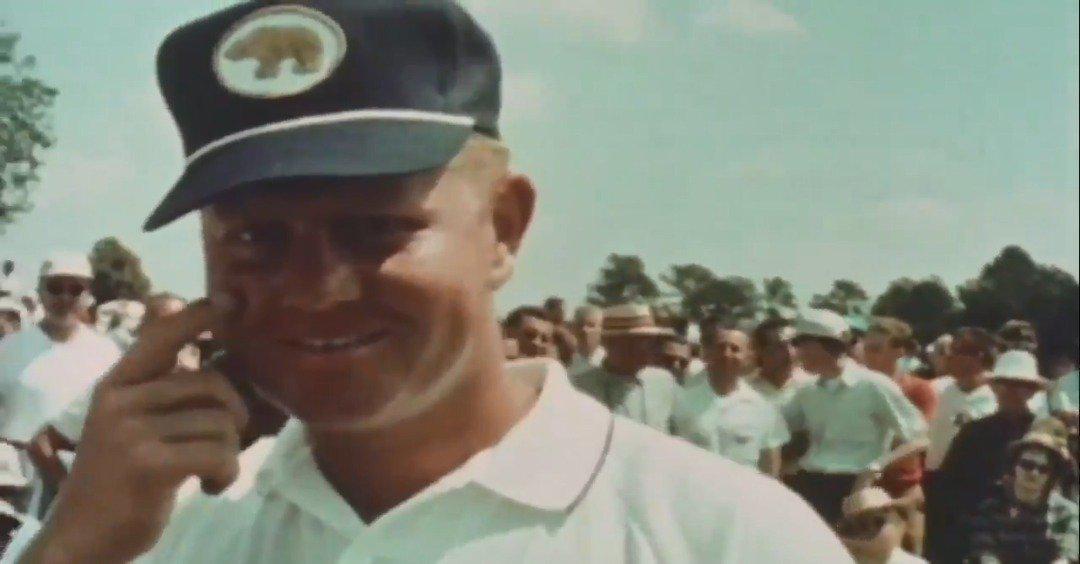 1963年尼克劳斯赢美国大师赛珍贵视频画面