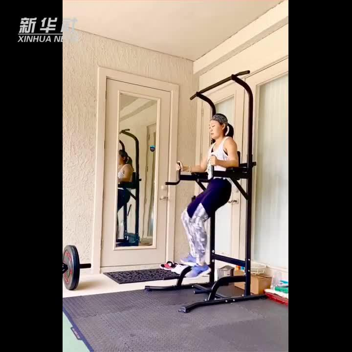 居家健身|杜墨含五十秒肌肉训练法