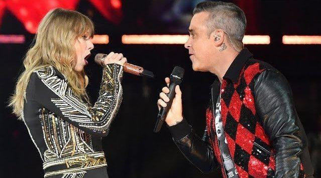 回顾Taylor Swift & Robbie Williams《Angels》live