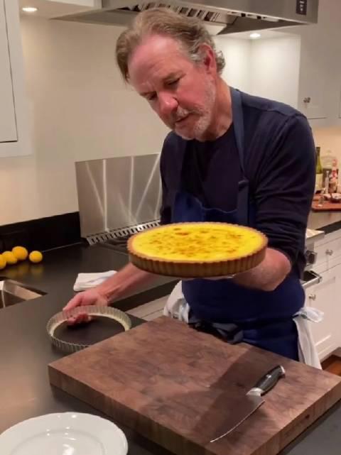 美国米其林名厨 托马斯凯勒 疫情期间在家 教你他的拿手菜 法式甜