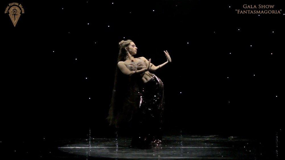Valeria Chudaeva在2019年白俄罗斯部落风舞蹈节上带来的一段独舞